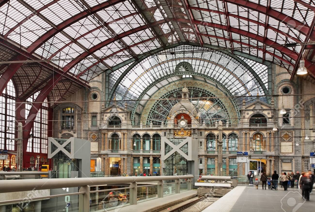 Antwerpen Centraal Railway Station Belgium Stock Photo Picture And Royalty Free Image Image 123131946
