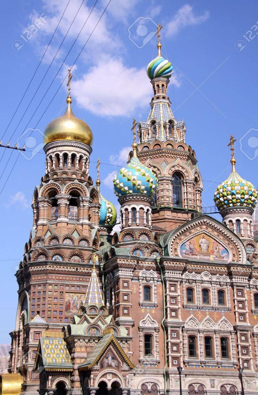 Church of the Savior on Blood - very famous landmark in Saint Petersburg, Russia, Europe Stock Photo - 5695774