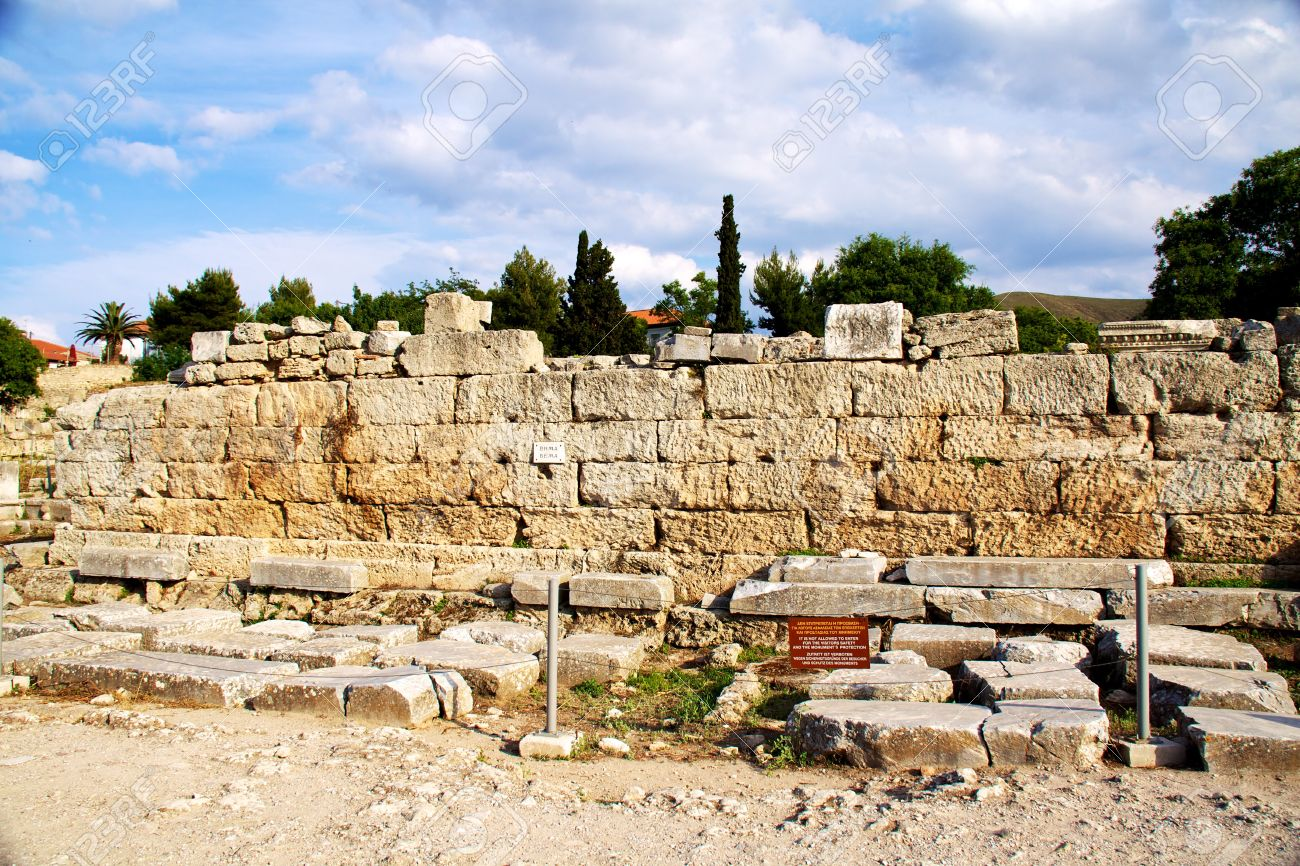 Archaeological Digs in Greece Archaeological Dig Site at The