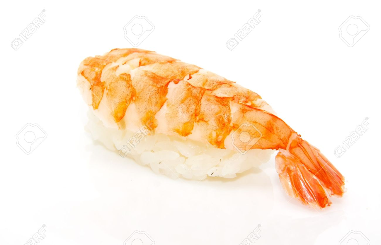 Japan Traditional Food Sushi Isolated