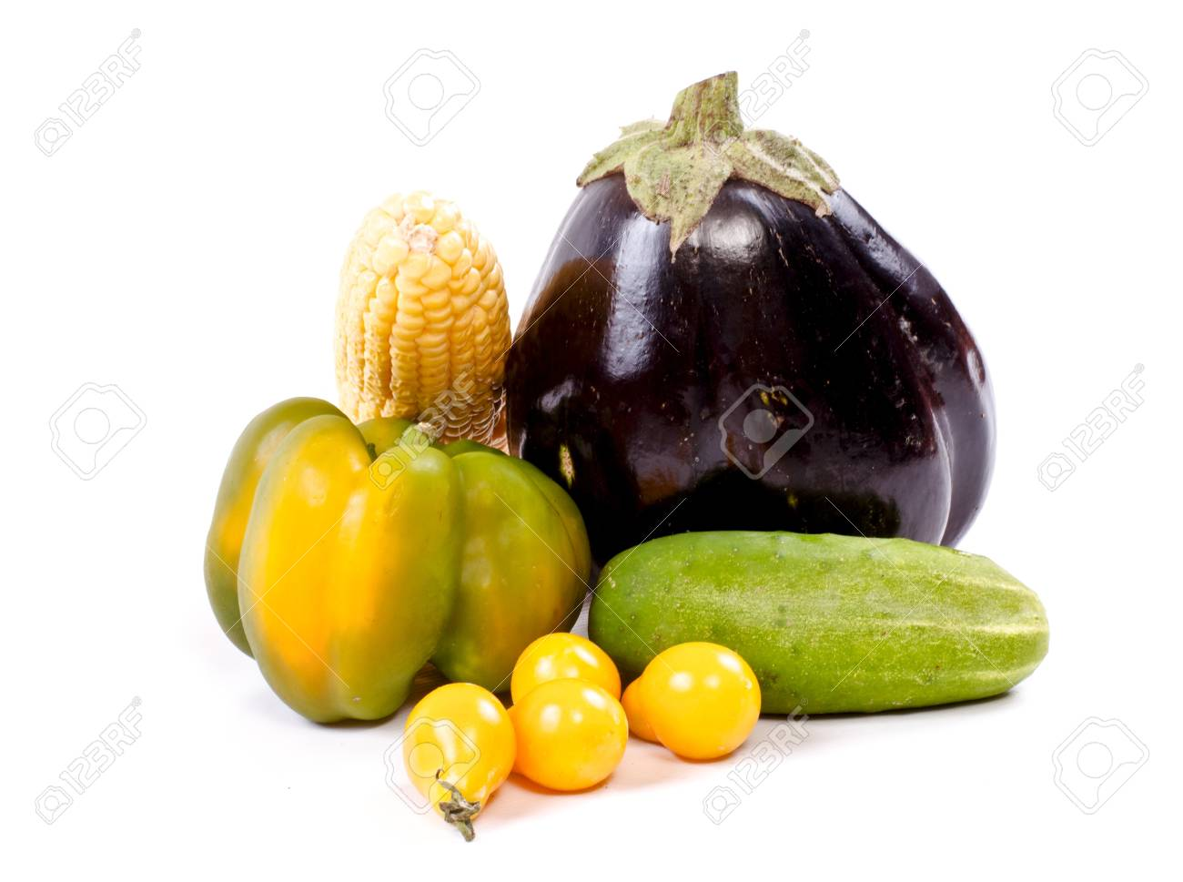 Fresh and ripe vegetables Stock Photo - 11369810