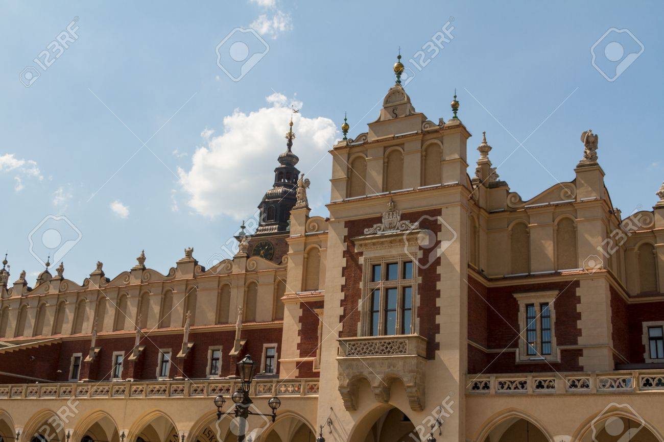 Sukiennice building in Krakow, Poland Stock Photo - 14141353