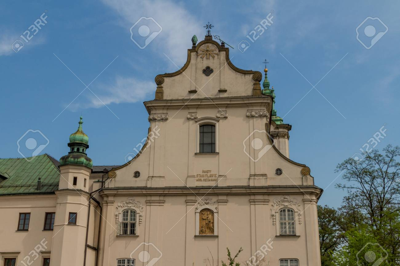 Cathedral in old town of Cracow Stock Photo - 14141264