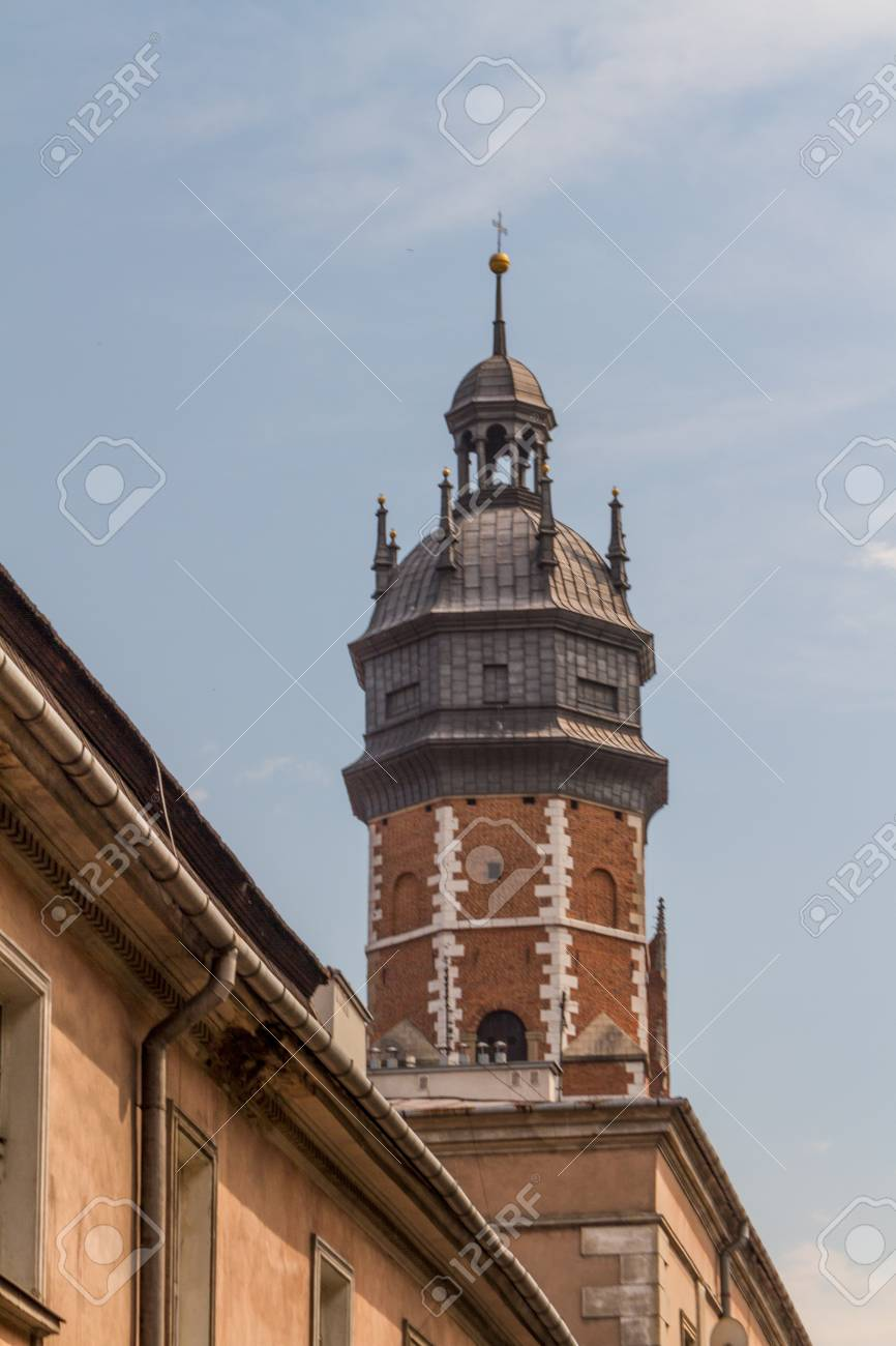 Krakow - a unique architecture in the old Jewish district of Kazimierz Stock Photo - 14363779
