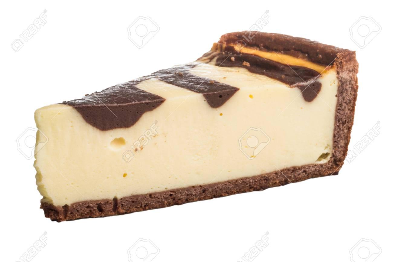 cheesecake with chocolate sauce Stock Photo - 14427566