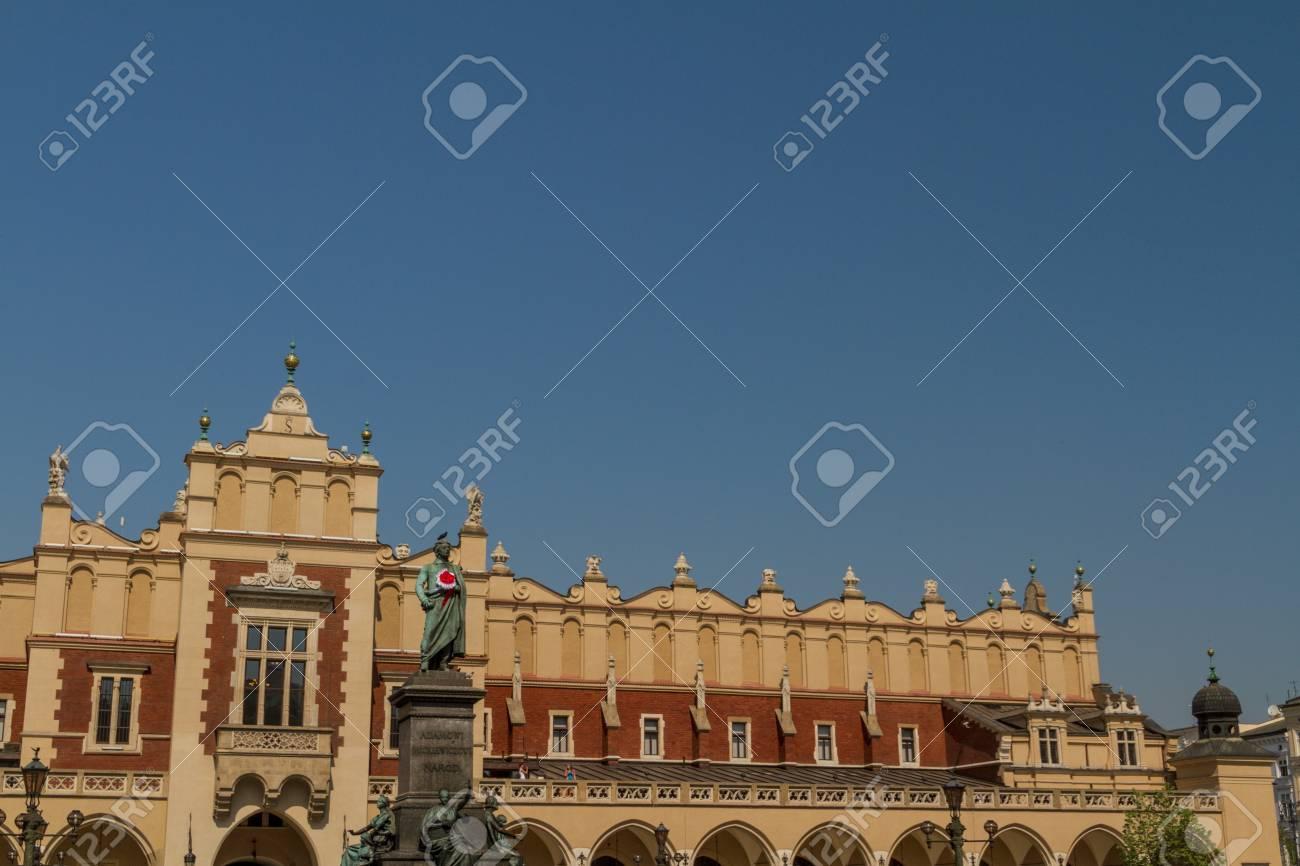 Sukiennice building in Krakow, Poland Stock Photo - 16608416
