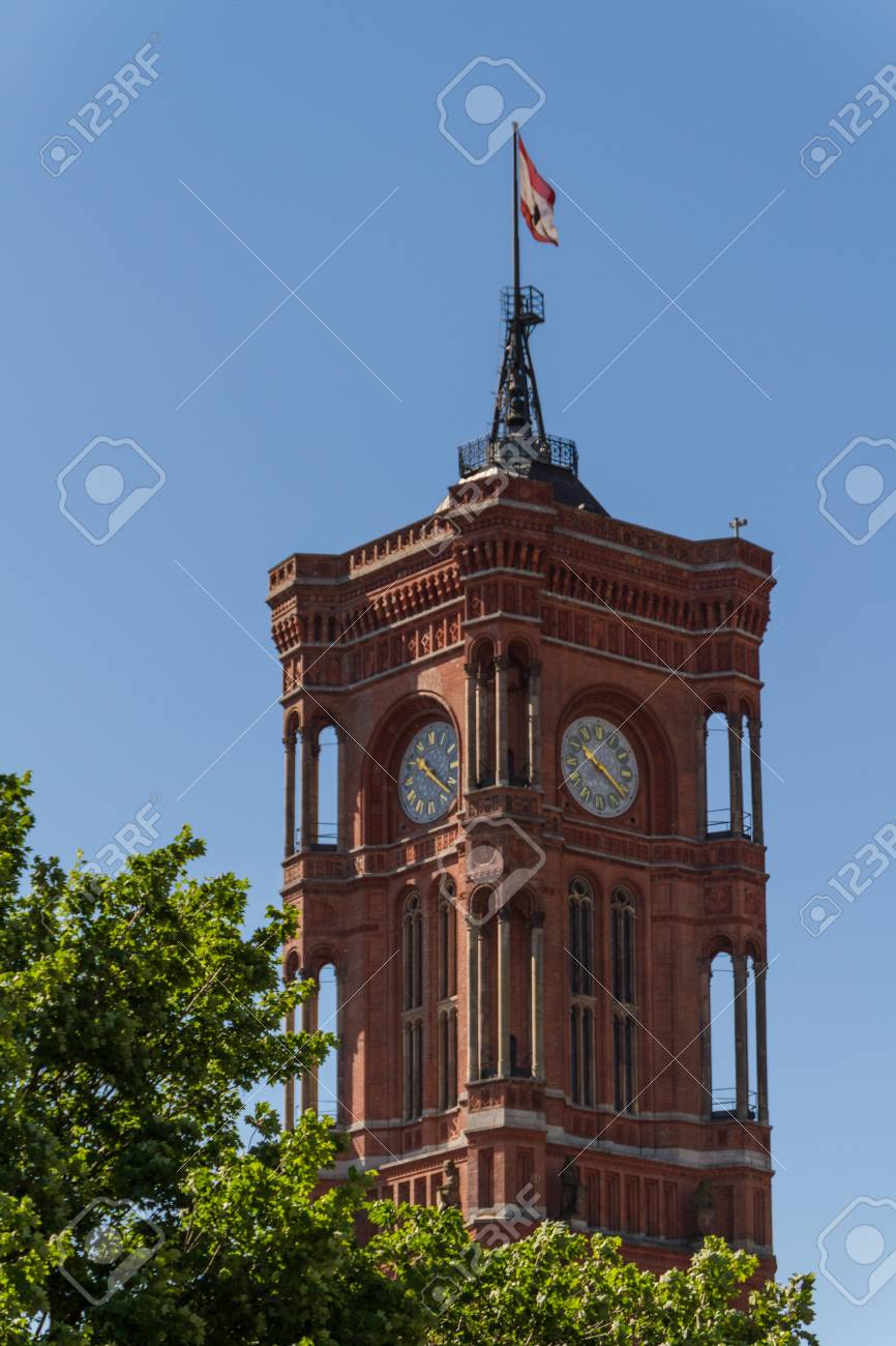 aerial view of central Berlin Stock Photo - 16701570
