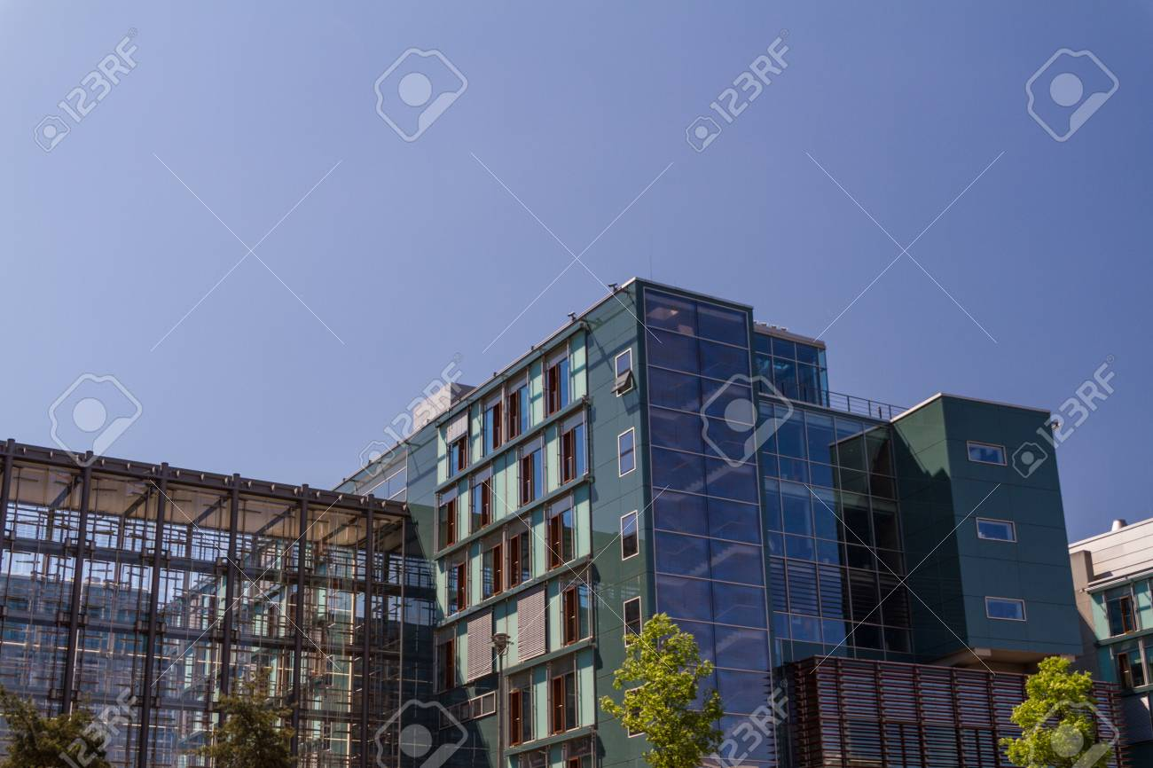 aerial view of central Berlin Stock Photo - 16961702