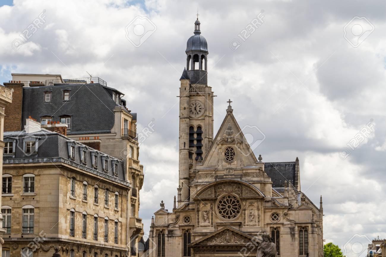 Church Saint Etienne du Mont, Paris, France Stock Photo - 16779605