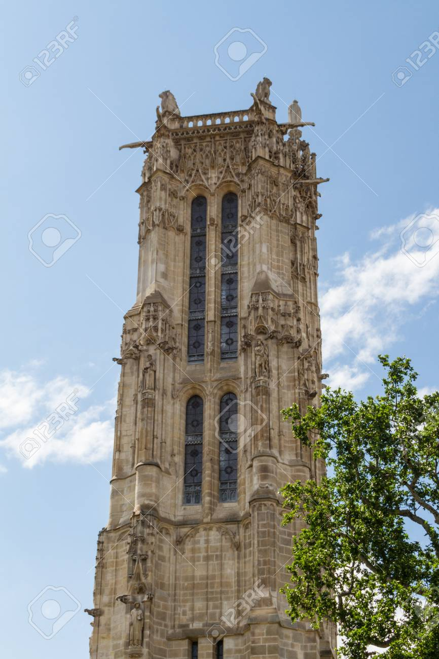 Saint-Jacques Tower, Paris, France. Stock Photo - 16810925