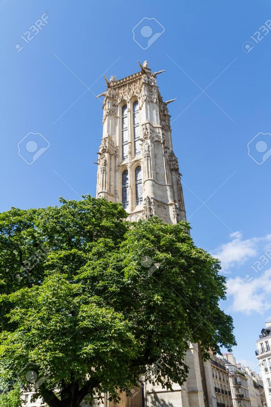 Saint-Jacques Tower, Paris, France. Stock Photo - 16812219