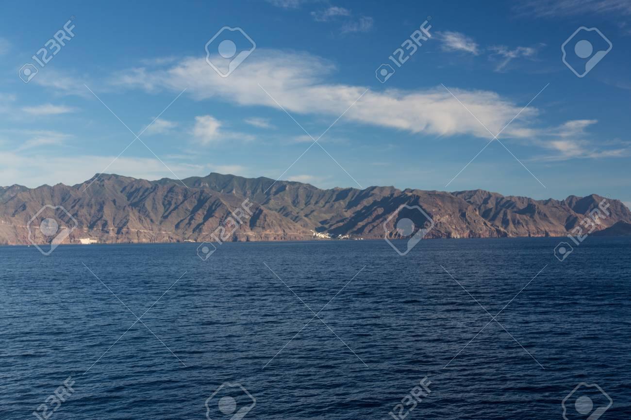 Cliffs of the Los Gigantes (Acantilados de los Gigantes) Tenerife, Spain Stock Photo - 16811722