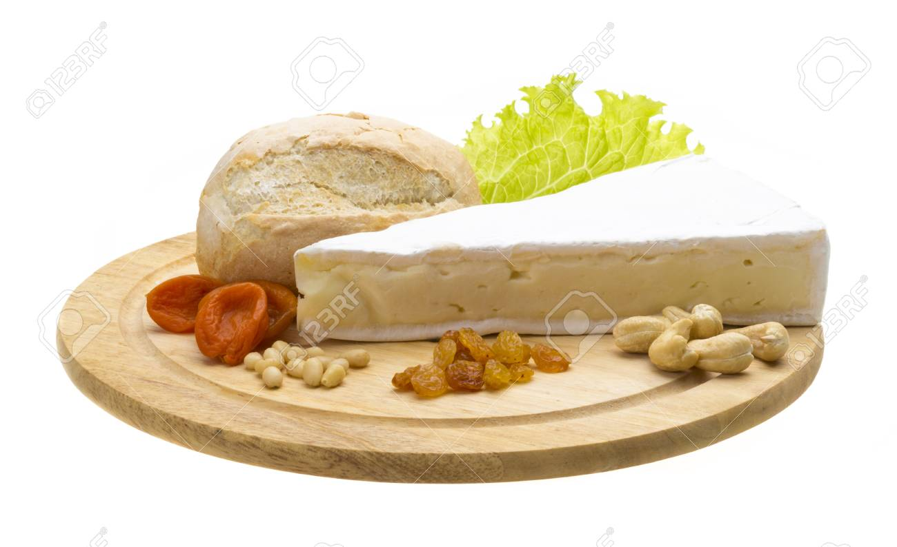 piece of Brie cheese Stock Photo - 17217709