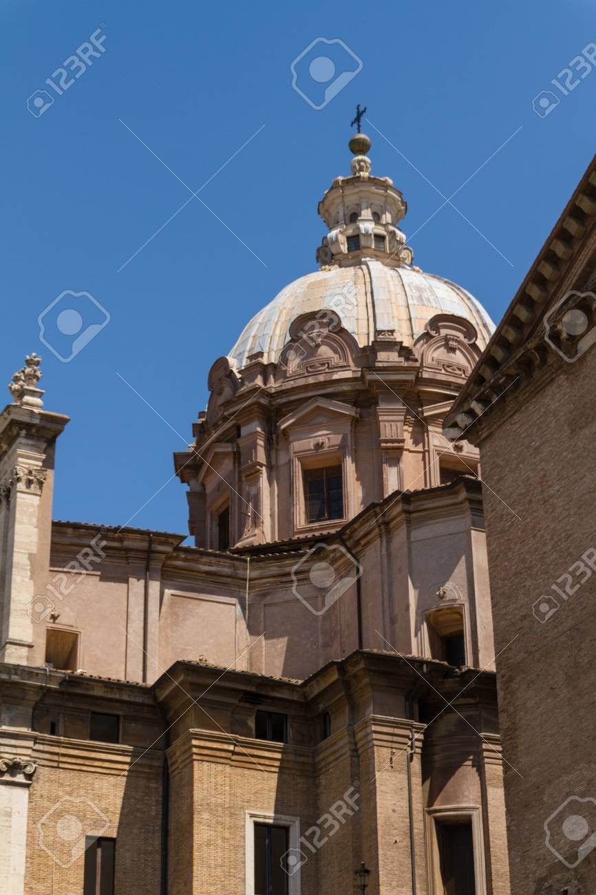 Great church in center of Rome, Italy Stock Photo - 18925328