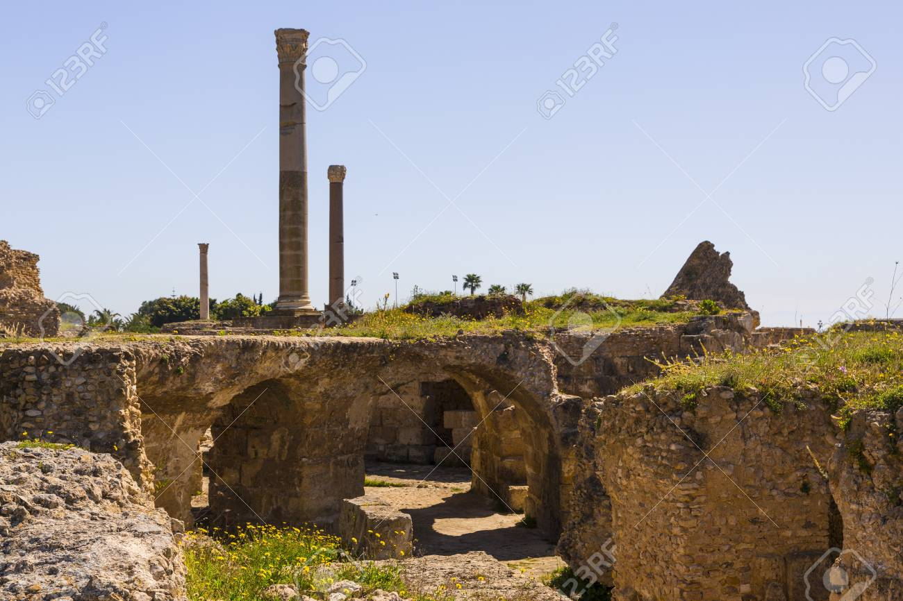 Image result for carthage ruins royalty free image