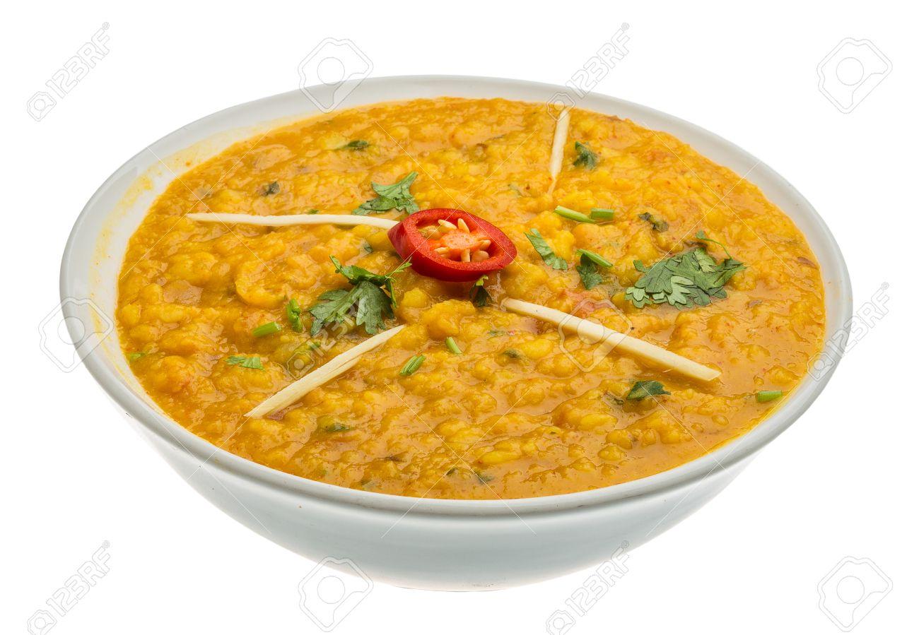 Daal Curry - Traditionelle Indische Küche Lizenzfreie Fotos, Bilder ...