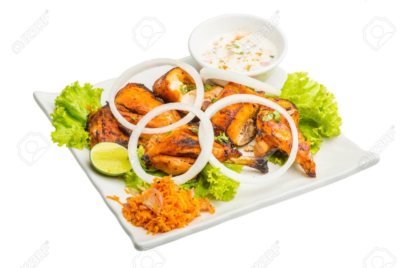 Tandori Chicken - Traditionelle Indische Küche Lizenzfreie Fotos ...