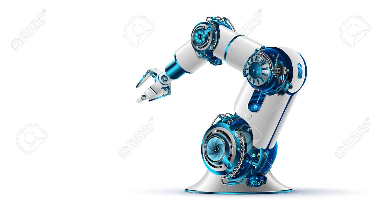 Robotic arm icon. - 88882419