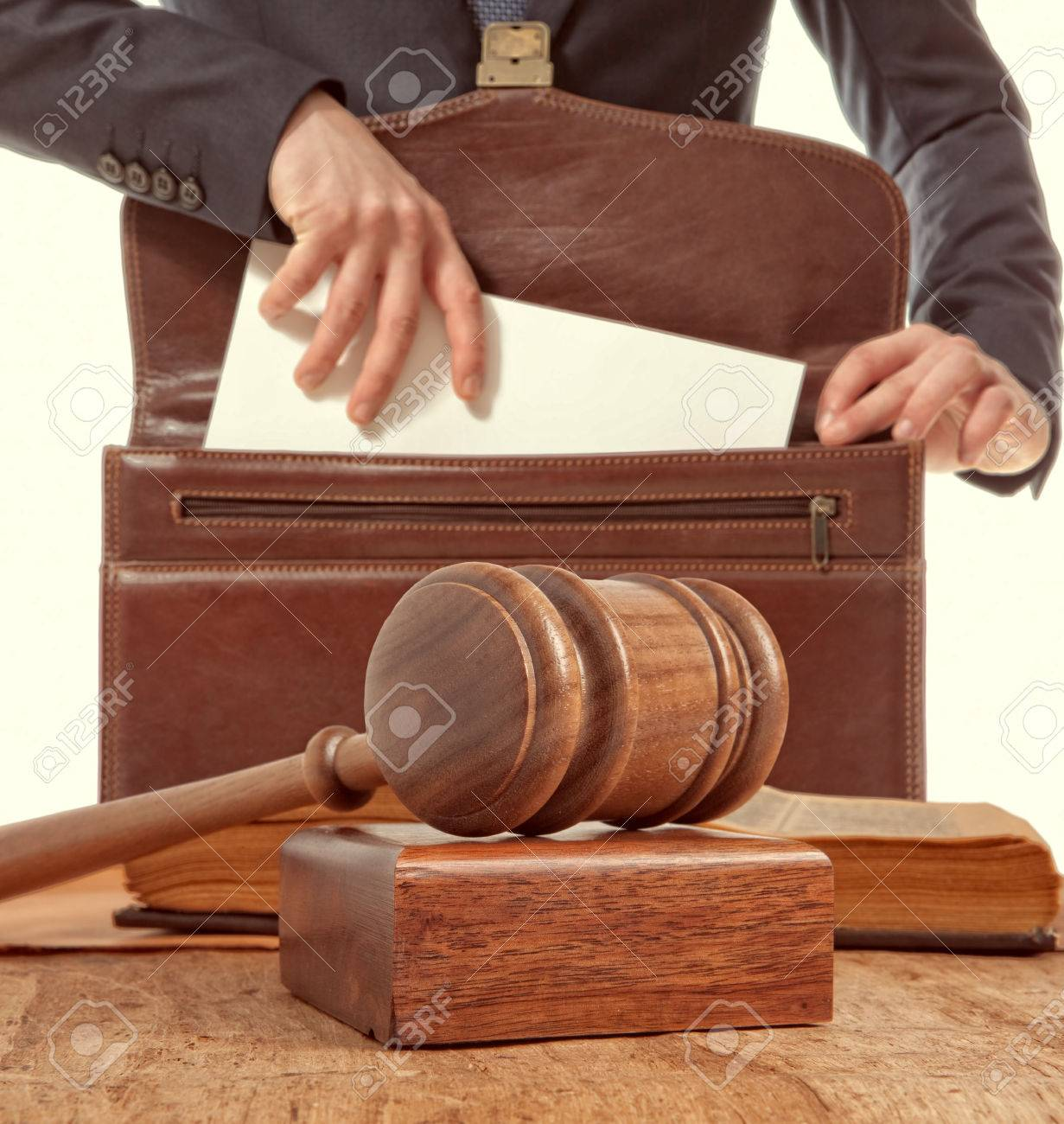 Caucasian lawyer in court. Law concept - 39622293