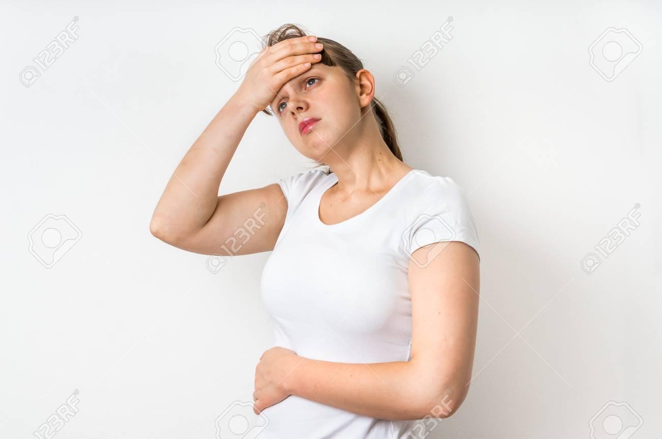 Dolor de frente migraña