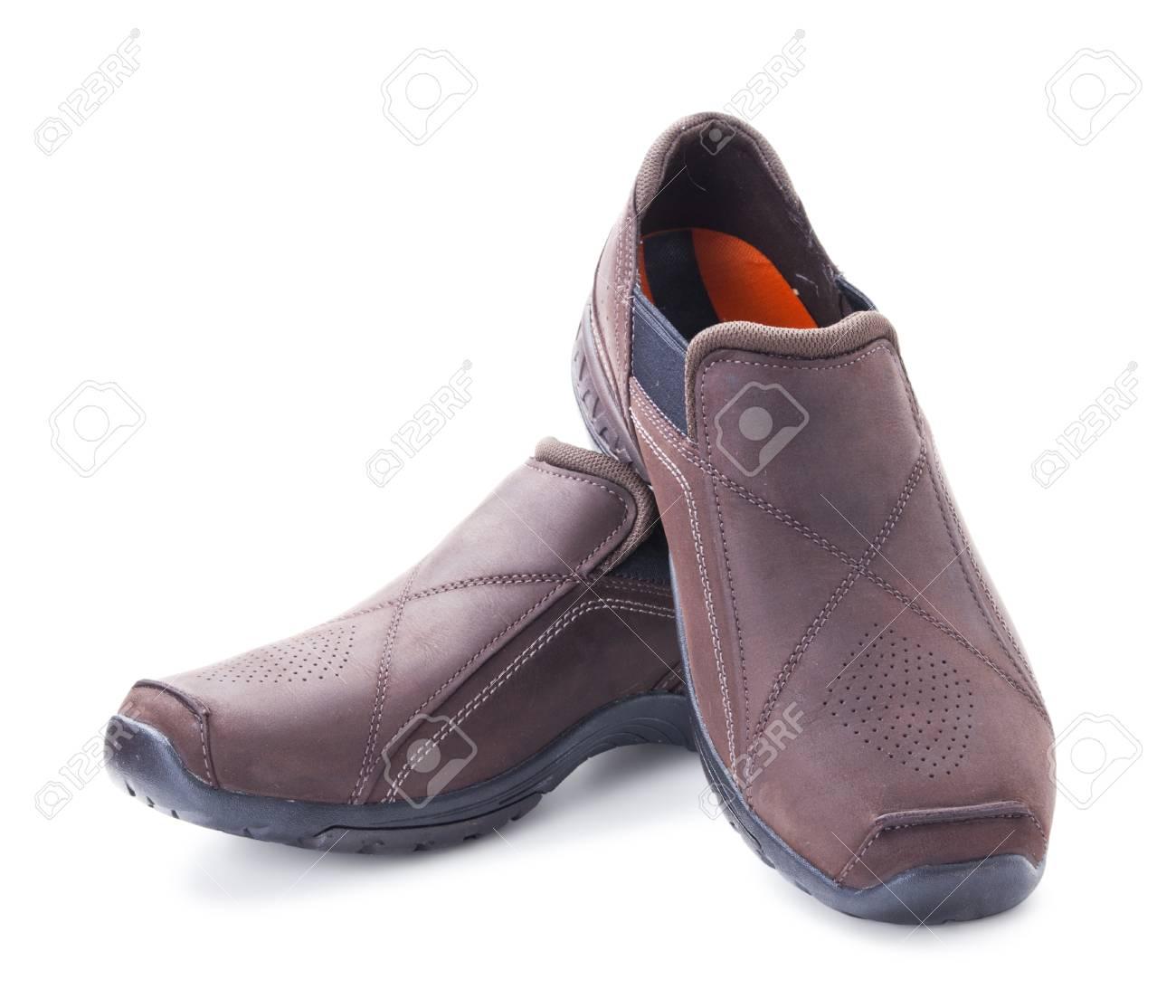 Aisladas Fondo Hombres Blanco Marrón Sobre Zapatos De Ante k80wOnP