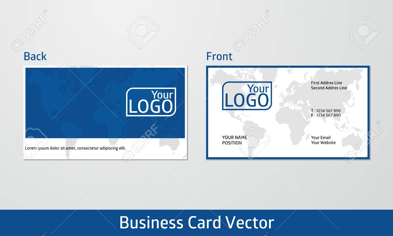 Modern Business Card Design. Simple, Modern, And Clean Design ...