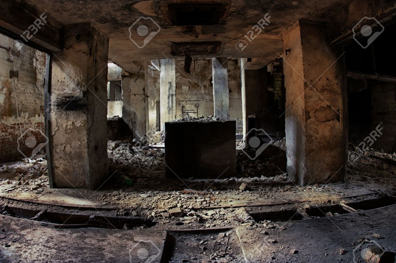 Industrial ruins Stock Photo - 11651863