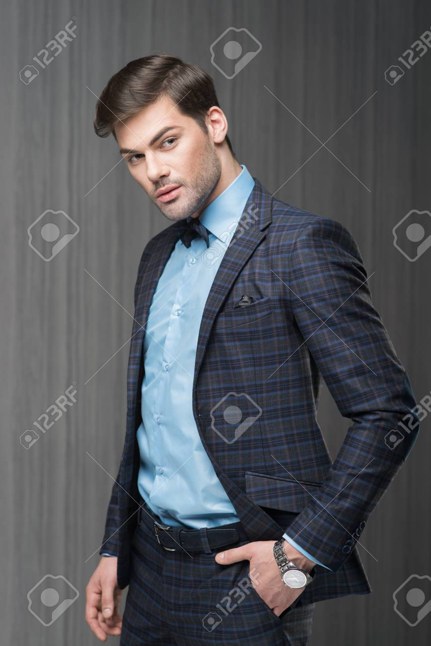 Anzug Blaues Hemd Richtig Anziehen Die Zehn Gebote Für