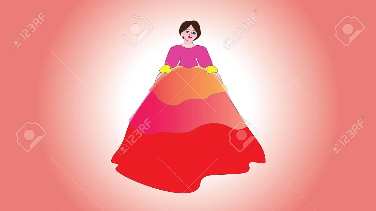 Dorable Vestidos De Dama Largo De La Vendimia Regalo - Colección de ...