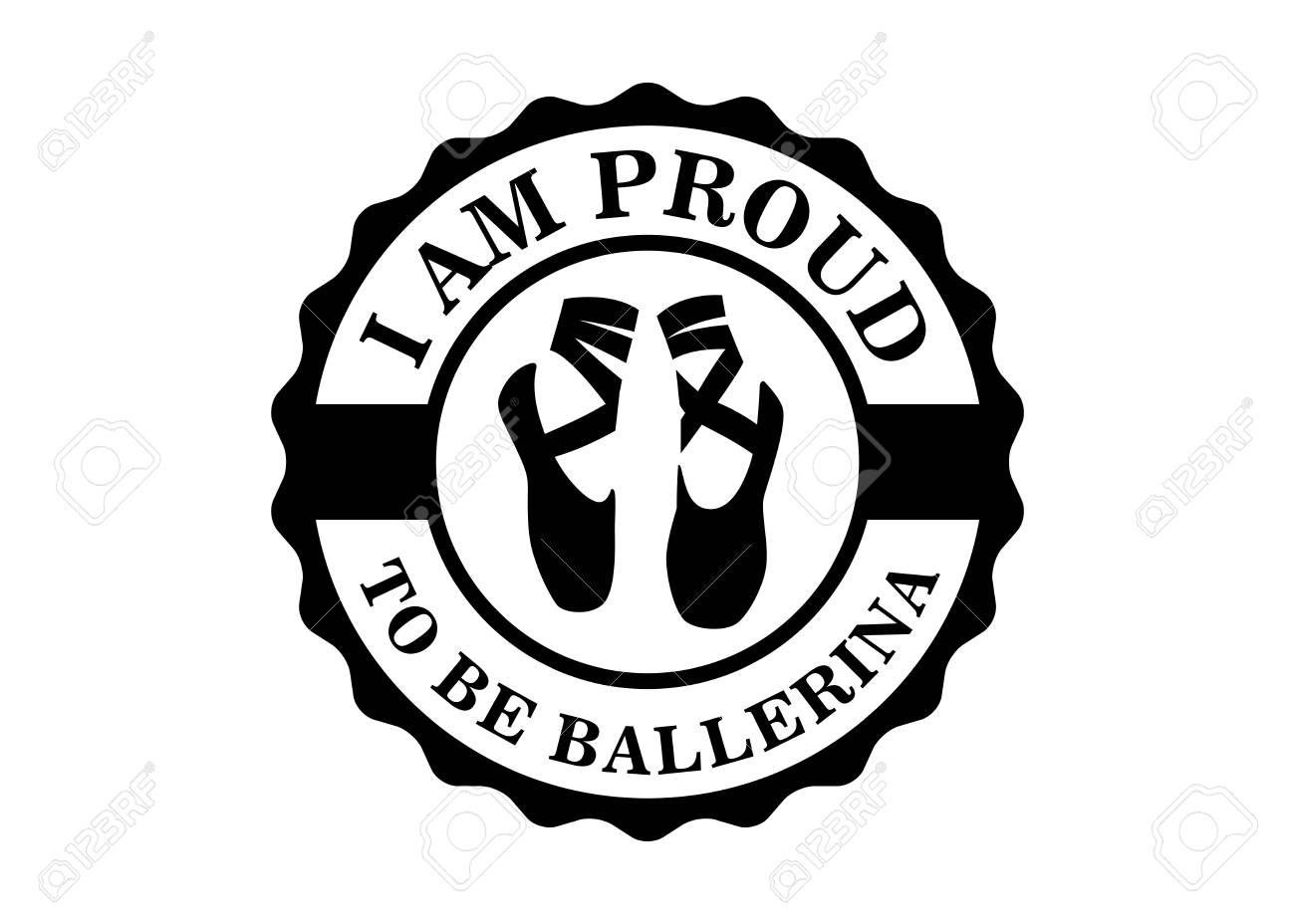 vector illustration of ballet ballerina dancing shoes perform I AM SH vector illustration of ballet ballerina dancing shoes perform action show stock vector