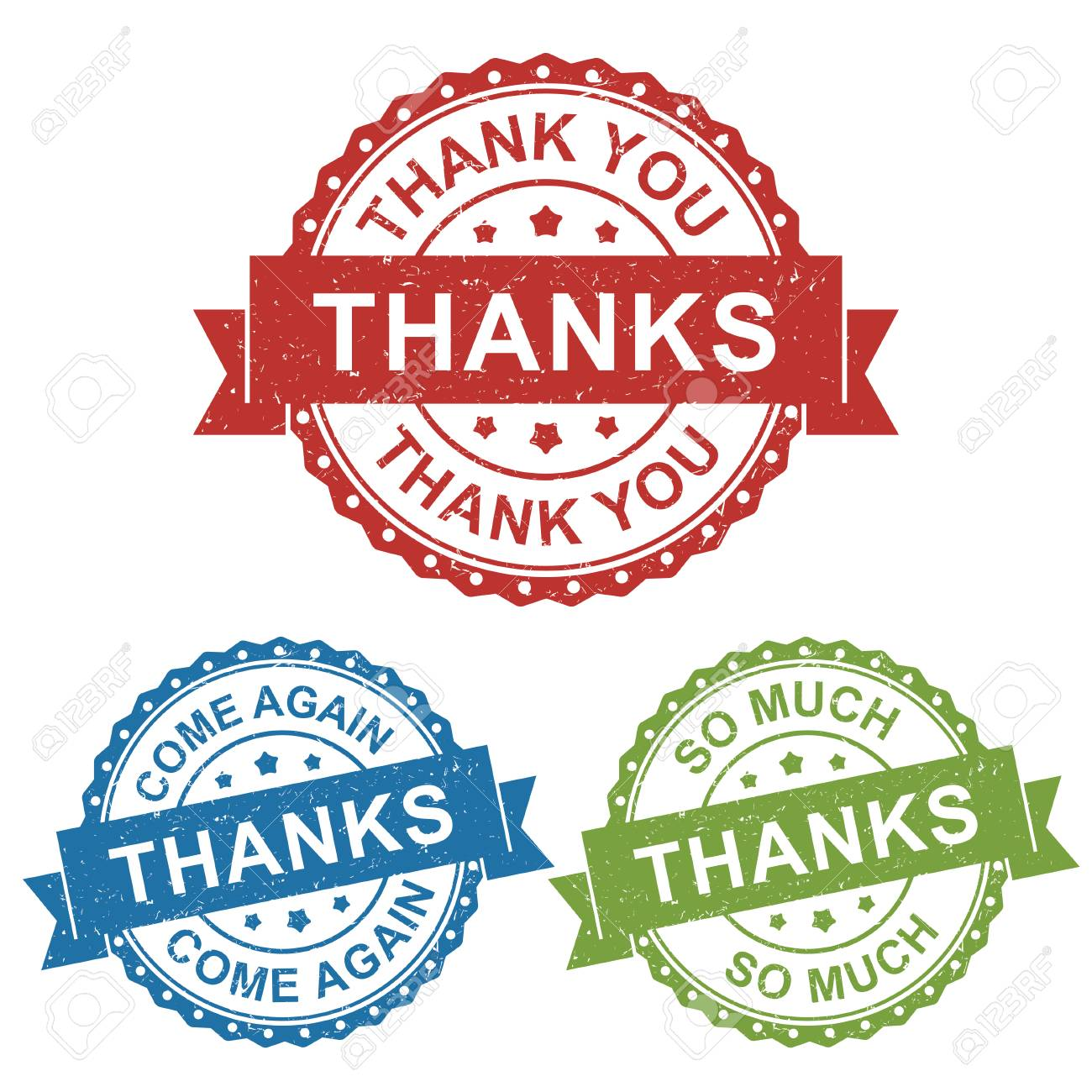 Thanks Thank You Come Again Vector Badge Label Stamp Tag For Royalty Free Cliparts Vectors And Stock Illustration Image 94822242