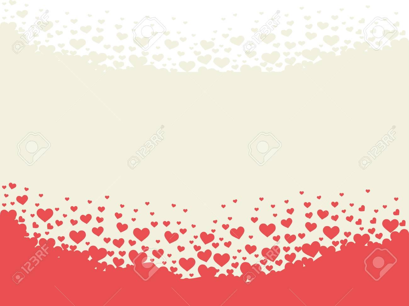 valentine heart shape theme background vector design for gift