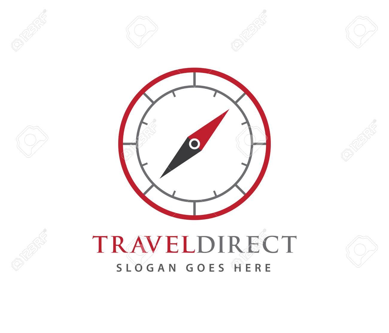 compass wind rose travel adventure direction navigation vector
