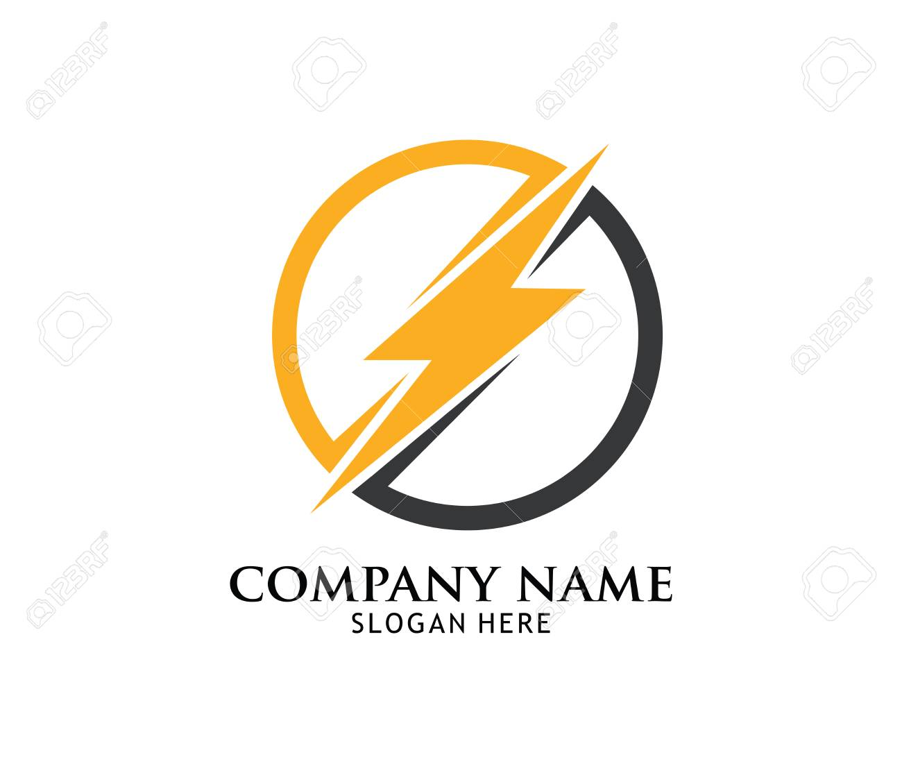 fast lightning power electricity vector logo design template royalty free cliparts vectors and stock illustration image 97809065 fast lightning power electricity vector logo design template