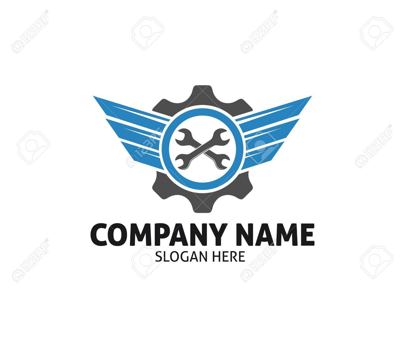 Car Auto Care Dealer Repair Service Vector Logo Design Template