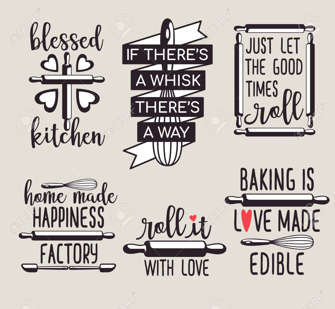 photo relating to Quote Printable named pleasurable adorable baking quotation printable vector structure template fixed