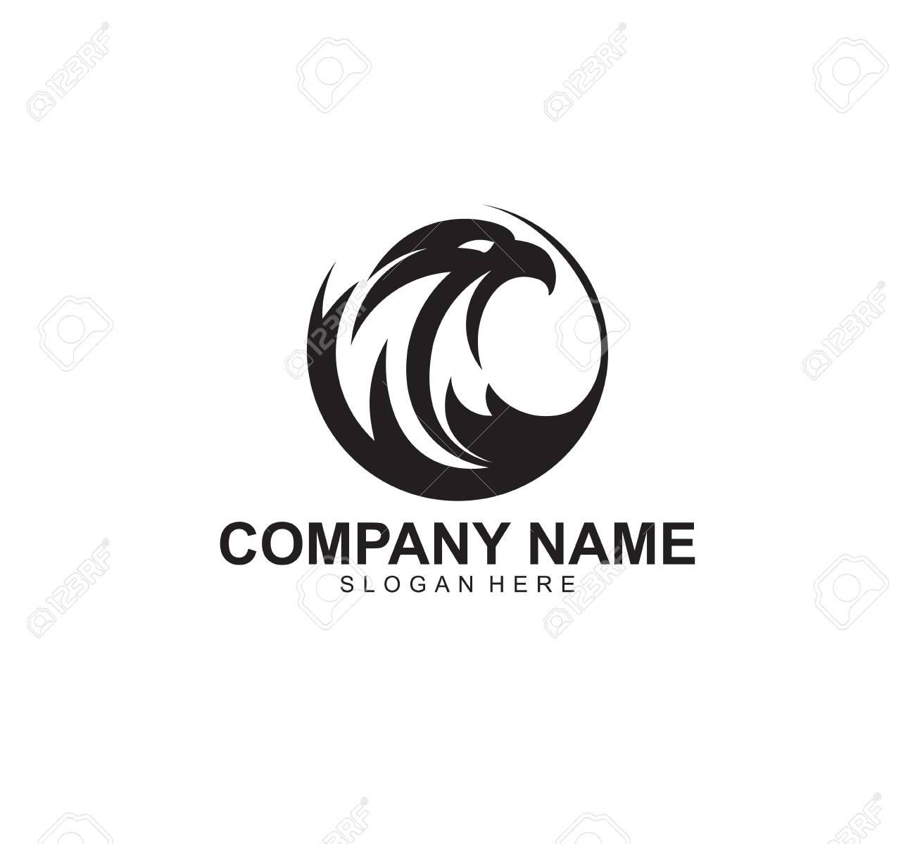 Mighty Eagle Vector Icon Logo Design Inspiration That Represents
