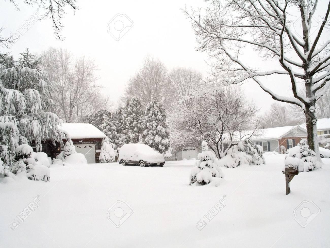 Snowy Neighborhood by Sous-Sol on DeviantArt