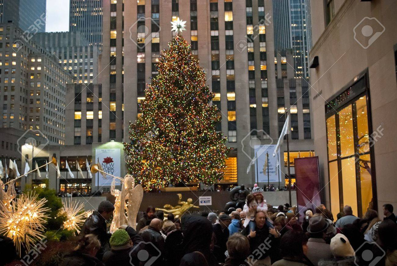 New York Christmas Stock Photos & Pictures. Royalty Free New York ...