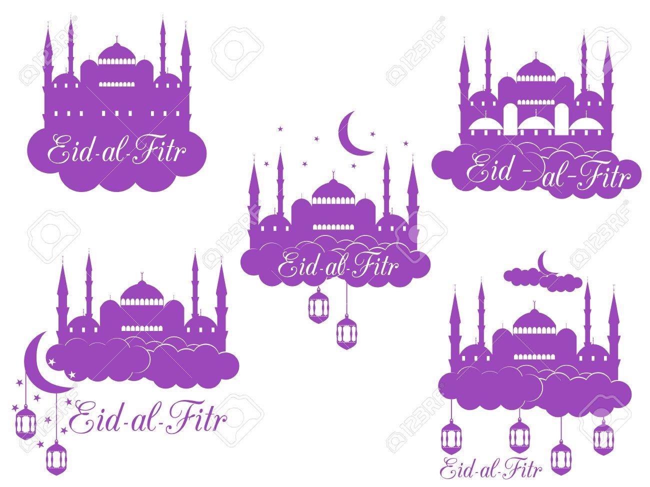 Beautiful Traditional Eid Al-Fitr Decorations - 59958011-ramadan-kareem-mosque-minaret-lantern-and-moon-eid-al-fitr-muslim-traditional-holiday-eid-mubarak-ve  You Should Have_83912 .jpg