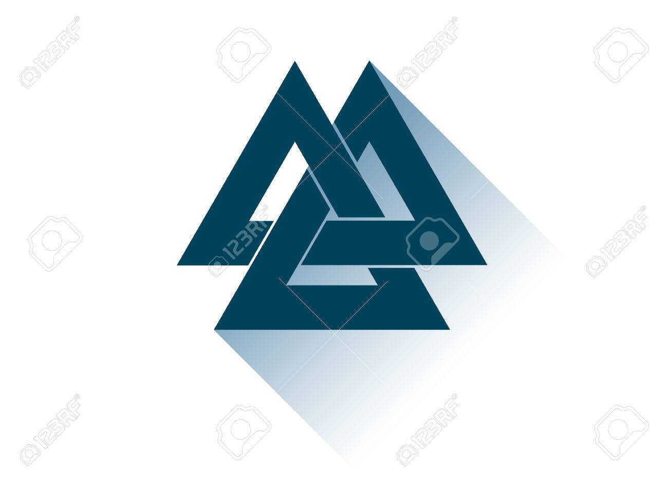 Triangle is a symbol of image collections symbol and sign ideas valknut is a symbol of the worlds end of the tree yggdrasil valknut is a symbol buycottarizona