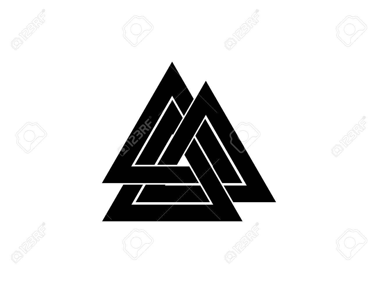 Valknut Is A Symbol Of The Worlds End Of The Tree Yggdrasil