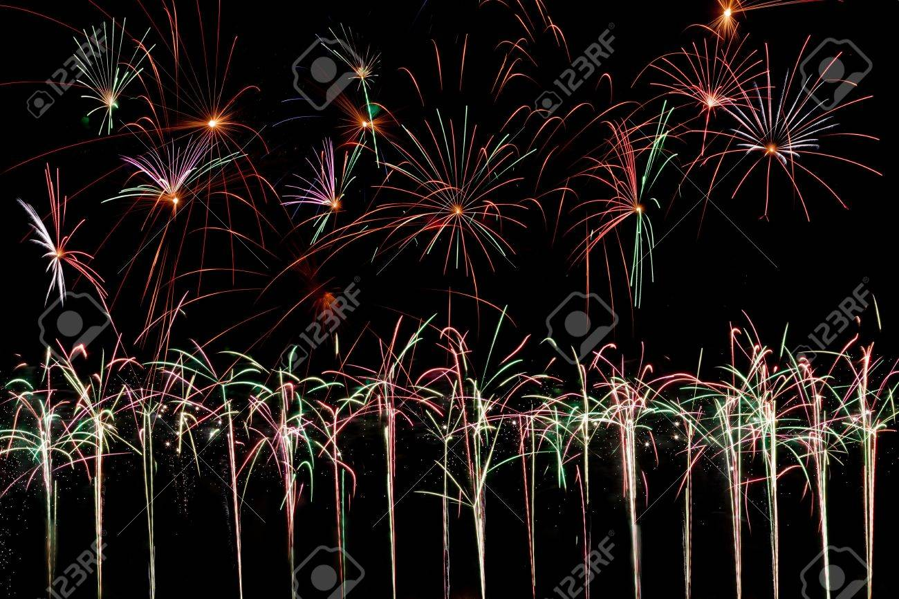10530127-row-of-fireworks-out-of-the-gro