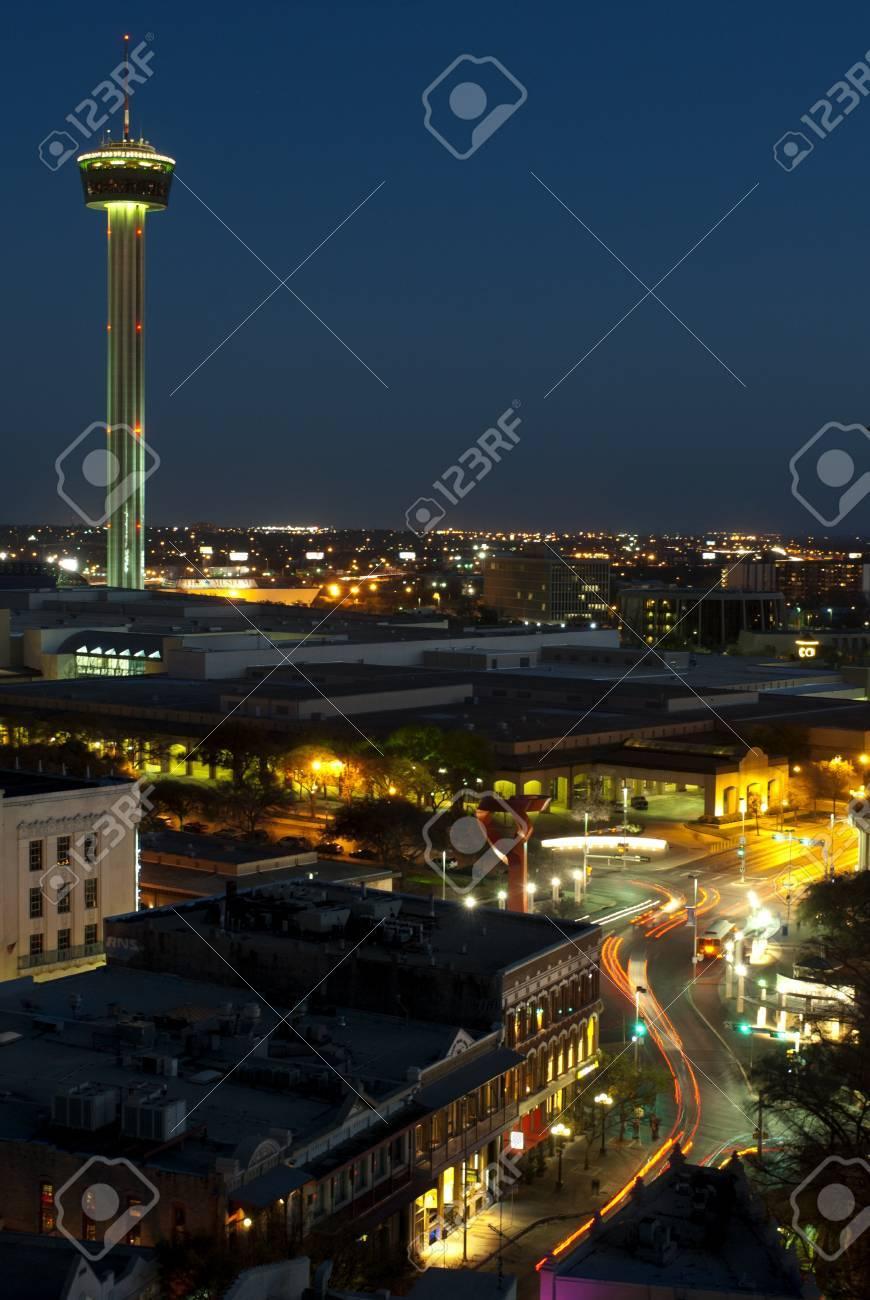 Aeriel view of San Antonio Texas Stock Photo - 13158624