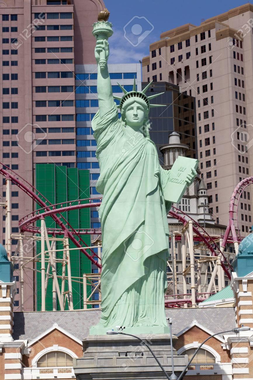 New York New York Casino And Hotel In Las Vegas Nevada Taken