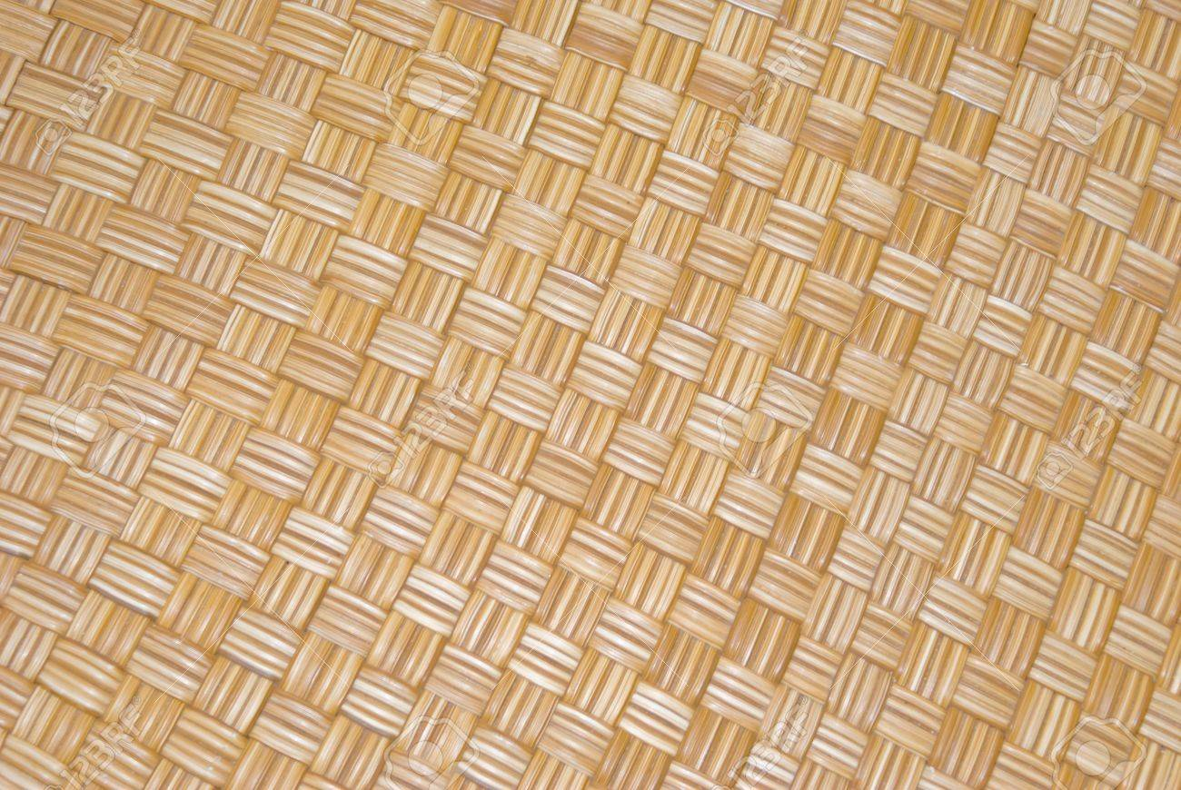 Merveilleux Close Up Of Cane Weaving Of Chair Seat. Wicker Cane Basket Weave Stock Photo