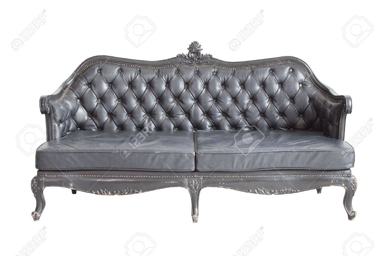 Luxurious sofa isolated on white background , with cut out part save include in to picture, for easy to use. Stock Photo - 13933701