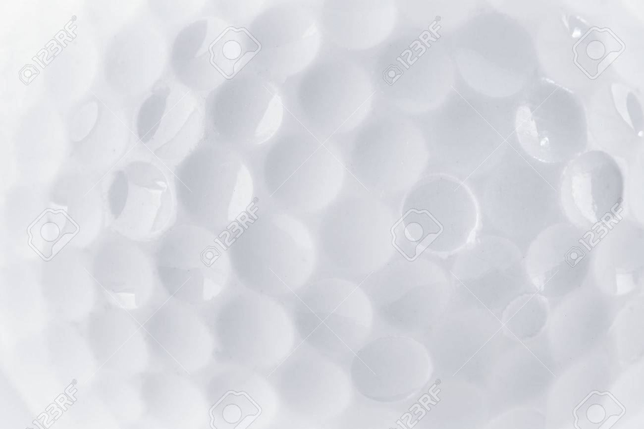 CLose up of a Golf Ball texture by macro lence and special tube Standard-Bild - 31357707