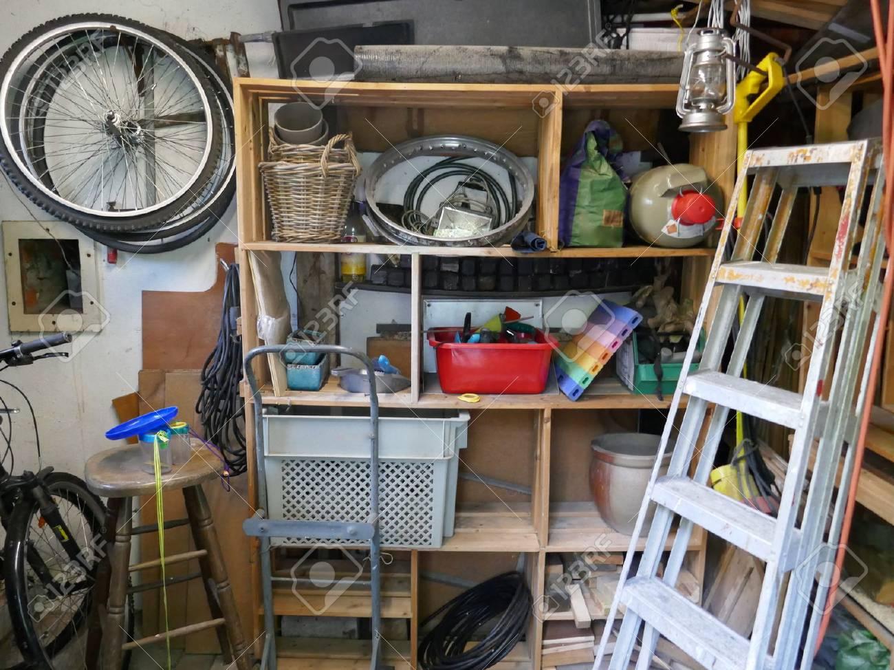 Messy storeroom - 88916355