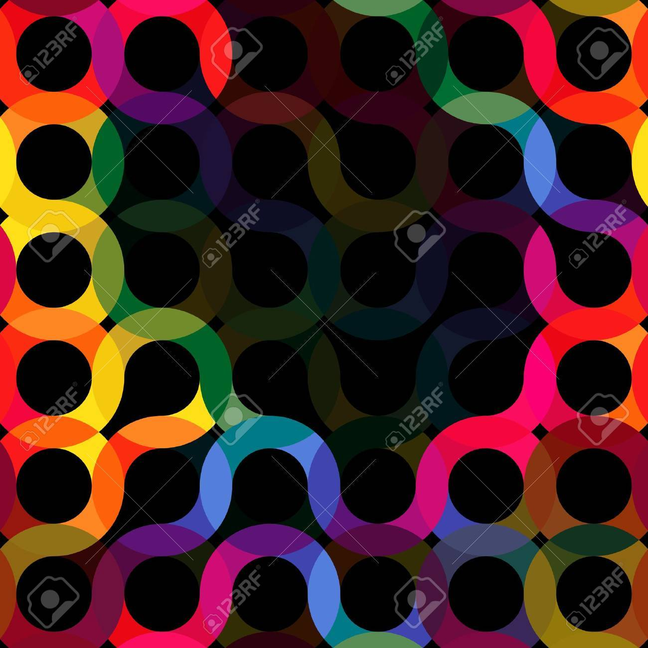 Rainbow Circles Stock Vector - 9842039
